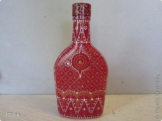 моя первая бутылка,это одна сторона фото 2