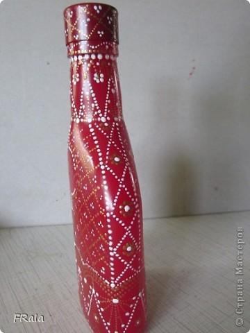 моя первая бутылка,это одна сторона фото 6