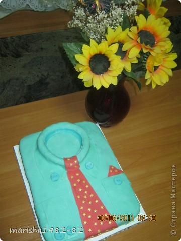 вот такую сладкую рубашку мы подарили! фото 1