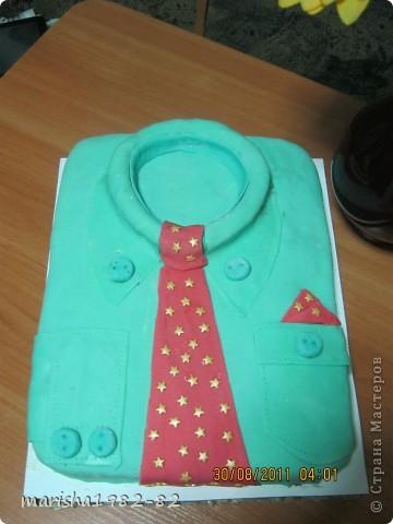 вот такую сладкую рубашку мы подарили! фото 2