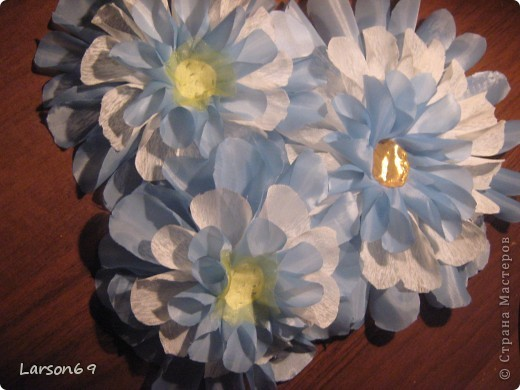 Цветок для декорирования занавески фото 4