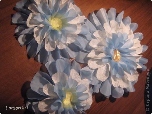 Цветок для декорирования занавески фото 3