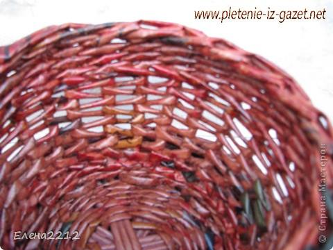 Зравствуйте, дорогие мастера-плетельщики! Вот недавно освоила новый вид плетения - зигзагом, представляю на ваш суд работы с его использованием.  Это фрагмент коробушки - узор крупным планом. фото 4