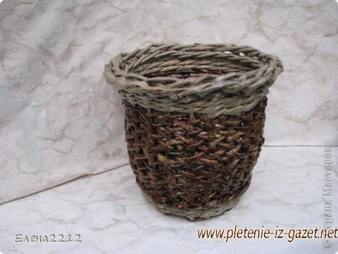 Зравствуйте, дорогие мастера-плетельщики! Вот недавно освоила новый вид плетения - зигзагом, представляю на ваш суд работы с его использованием.  Это фрагмент коробушки - узор крупным планом. фото 6
