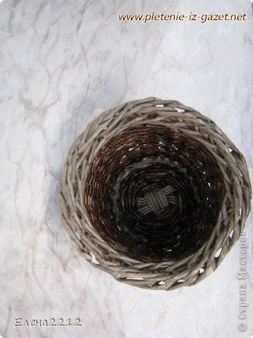 Зравствуйте, дорогие мастера-плетельщики! Вот недавно освоила новый вид плетения - зигзагом, представляю на ваш суд работы с его использованием.  Это фрагмент коробушки - узор крупным планом. фото 8