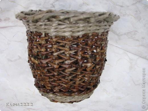 Зравствуйте, дорогие мастера-плетельщики! Вот недавно освоила новый вид плетения - зигзагом, представляю на ваш суд работы с его использованием.  Это фрагмент коробушки - узор крупным планом. фото 7