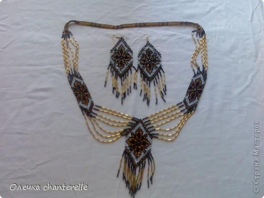 Украшение Бисероплетение Серьги из бисера сделанные на станке и схемы к плетению Бисер фото 4.