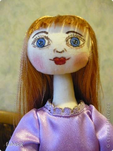 Очень мне понравилось шить таких куколок и сшила ещё одну по выкройке Анечки (ALIBI ).  фото 2