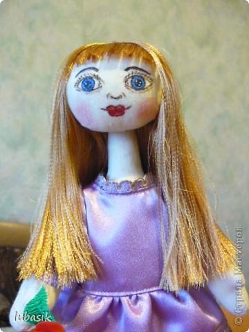 Очень мне понравилось шить таких куколок и сшила ещё одну по выкройке Анечки (ALIBI ).  фото 3
