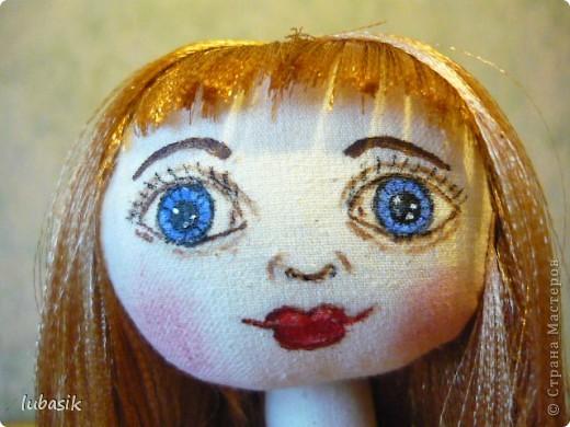 Очень мне понравилось шить таких куколок и сшила ещё одну по выкройке Анечки (ALIBI ).  фото 4