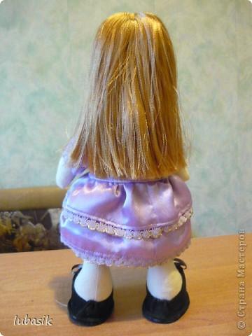 Очень мне понравилось шить таких куколок и сшила ещё одну по выкройке Анечки (ALIBI ).  фото 5
