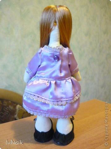 Очень мне понравилось шить таких куколок и сшила ещё одну по выкройке Анечки (ALIBI ).  фото 6