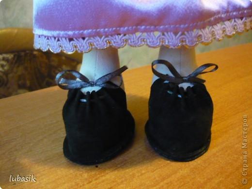 Очень мне понравилось шить таких куколок и сшила ещё одну по выкройке Анечки (ALIBI ).  фото 8