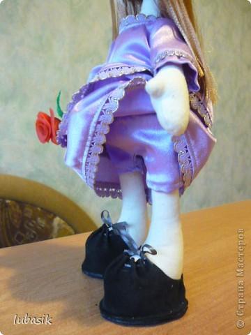 Очень мне понравилось шить таких куколок и сшила ещё одну по выкройке Анечки (ALIBI ).  фото 7