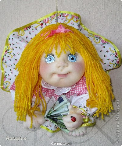 Шитье кукол из капрона мастер класс сделай сам #8