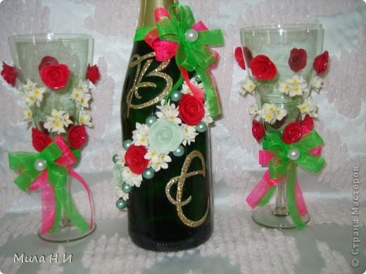 Из холодного фарфора цветы. фото 2