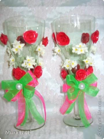 Из холодного фарфора цветы. фото 4
