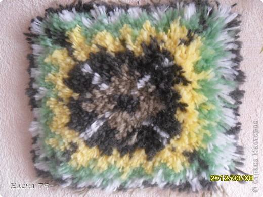 ткачество ворсового коврика