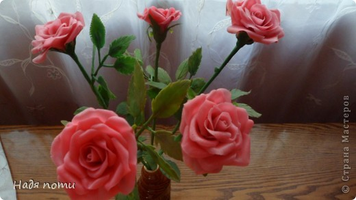 Розовые розы..... фото 1