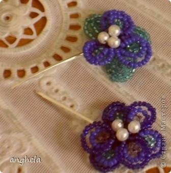 Заколочки и украшение для старого ободка фото 2