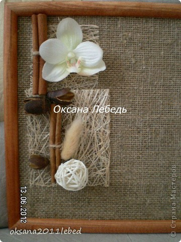 Привет всем!!!! Забегаю к Вам на минутку, добавить новую работку, панно в догонку к топику орхидейному! фото 2