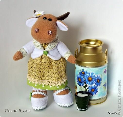 А много ль корова дает молока? фото 1