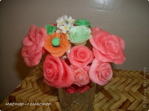 Мои первые цветочки.