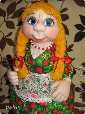 хозяюшка - кукла на чайник фото 4
