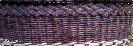 Корзиночка для белья Размеры: высота-50 см, длина-43см, ширина-30 см фото 3