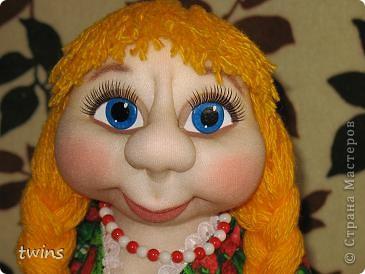 хозяюшка - кукла на чайник фото 2