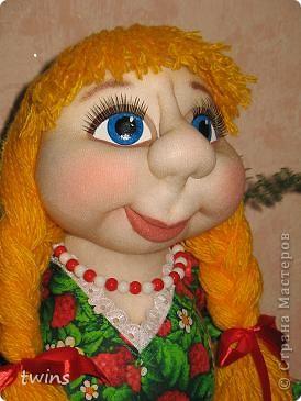 хозяюшка - кукла на чайник фото 1