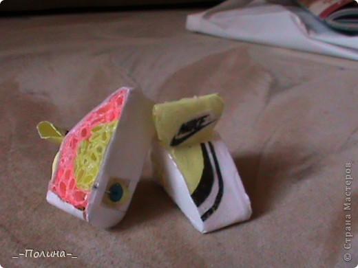 Бумажные ботиночки. фото 2