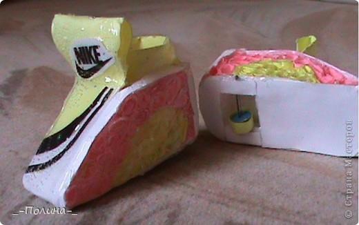 Бумажные ботиночки. фото 1
