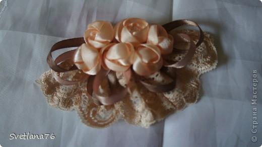 Розы делала по МК Полыни http://stranamasterov.ru/node/269709?tid=451%2C1303 Спасибо ей огромное. Ленты шириной 2,5см. фото 4