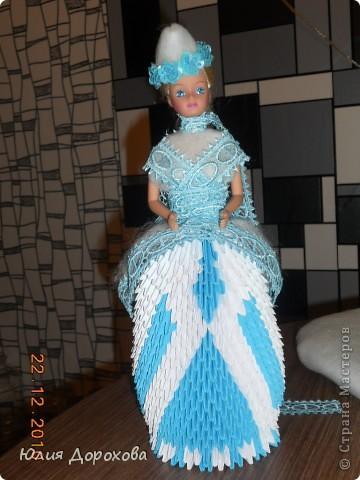 Это моя вторая работа в технике оригами. Подарок на свадьбу. Вдохновлялась здесь в Стране мастеров. Спасибо всем. фото 3