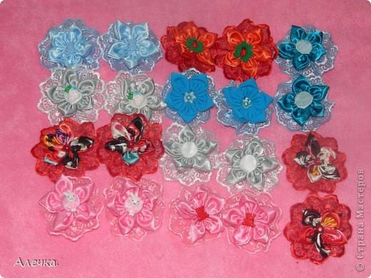 Повязочки для детейБольшие цветы в технике выжигание по ткани фото 2
