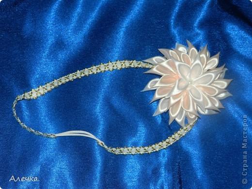 Повязочки для детейБольшие цветы в технике выжигание по ткани фото 6
