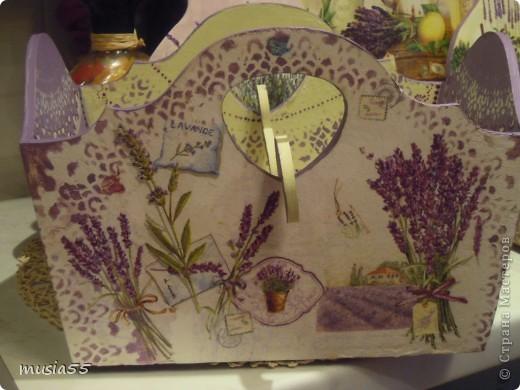 Добрый день,кто заглянул ко мне на страничку!!! В дополнение к чайному домику-Лавандовое утро- родился этот подарочный набор для дочери.Ей очень понравился чайный домик и тема лаванды , фиалки в нежно лавандовом цвете....вот и родилось все это дополнение... фото 9