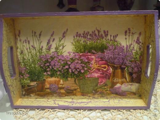 Добрый день,кто заглянул ко мне на страничку!!! В дополнение к чайному домику-Лавандовое утро- родился этот подарочный набор для дочери.Ей очень понравился чайный домик и тема лаванды , фиалки в нежно лавандовом цвете....вот и родилось все это дополнение... фото 5