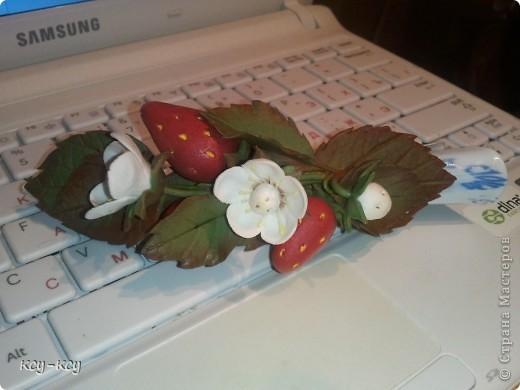Заколочки с цветами.... и ягодками..... фото 5
