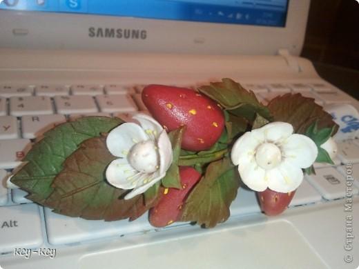 Заколочки с цветами.... и ягодками..... фото 6