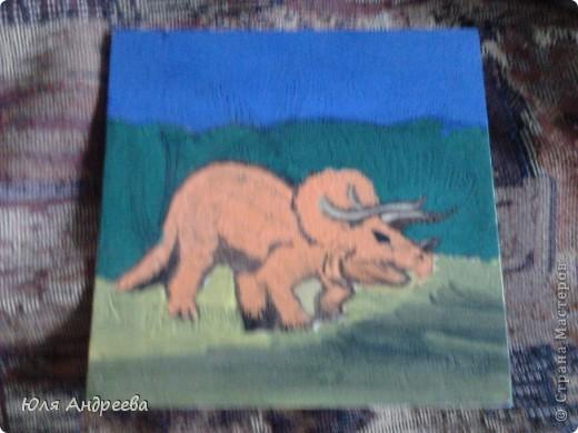 этого динозаврика я подарила дедушке фото 1
