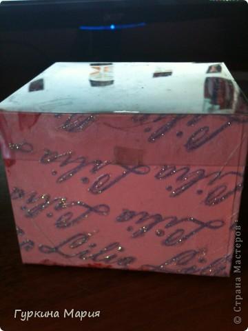 Моя подарочная коробочка №3 вид сверху: фото 5