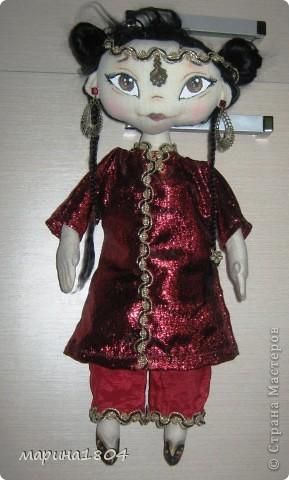 Здравствуйте, дорогие соседи! ....и вдруг захотелось экзотики... Задумывалась как китайская принцесса, не знаю только похожа на китайскую или нет :)) фото 1