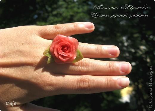"""кольцо""""Роза сна"""" фото 3"""