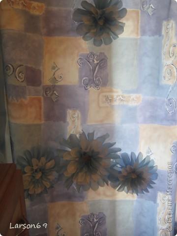 Цветок для декорирования занавески фото 8