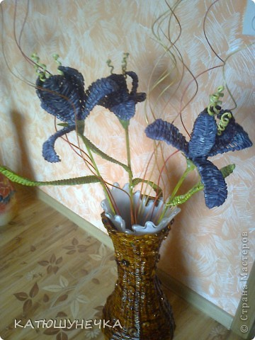 цветочки плетеные фото 1