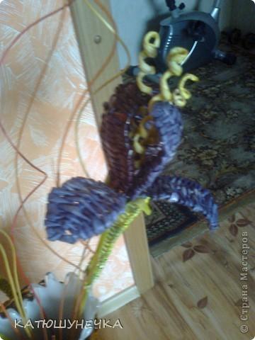 цветочки плетеные фото 3