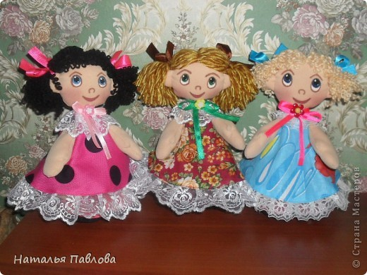 Пополнила семейку кукол по МК ...Наташи... приближаются ярмарки-продажи.... фото 1