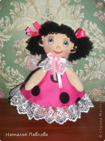Пополнила семейку кукол по МК ...Наташи... приближаются ярмарки-продажи.... фото 2